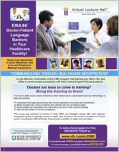 Click for info on Communicating Through Healthcare Interpreters